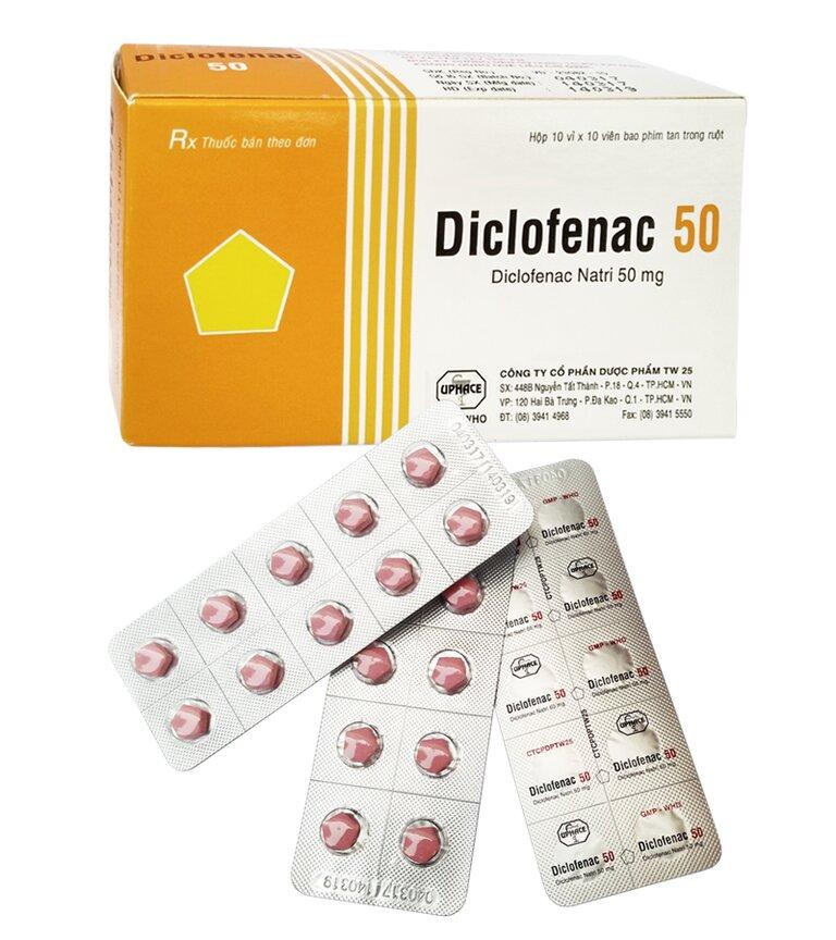 Thuốc có tác dụng giảm sưng đau hiệu quả