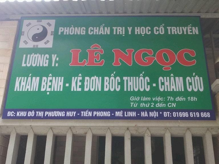 Phòng khám Lương y Lê Ngọc ở Mê Linh - Hà Nội