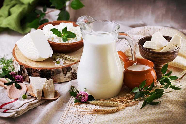 Sữa và các chế phẩm từ sữa rất tốt cho người thoái hóa khớp