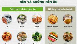 Thoái hóa khớp nên ăn gì và kiêng gì?
