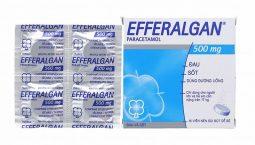 Thuốc đau đầu Efferalgan 500mg dạng viên sủi