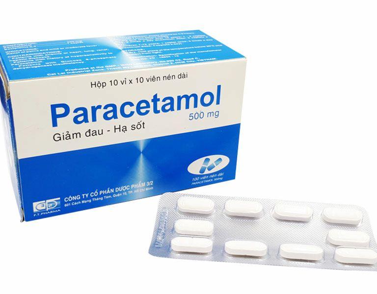 Paracetamol là một trong những thuốc giảm đau thường được sử dụng cho bệnh nhân thoái hóa khớp