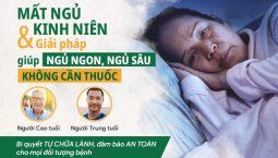 Đông phương Thần hiệu chữa mất ngủ kinh niên