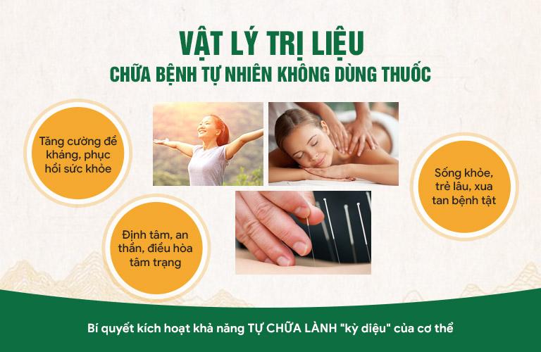 Áp dụng theo cơ chế chữa bệnh tự nhiên còn giúp người bệnh gia tăng sức khỏe và tuổi thọ