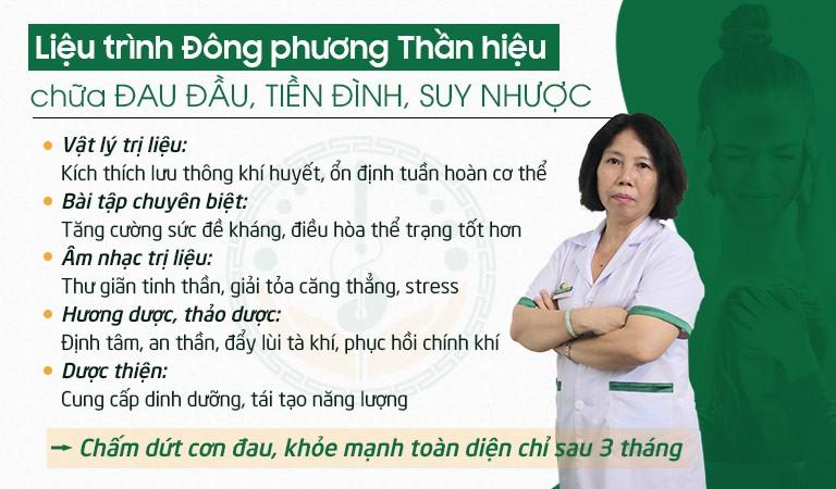 Liệu trình điều trị tại Đông phương Y pháp