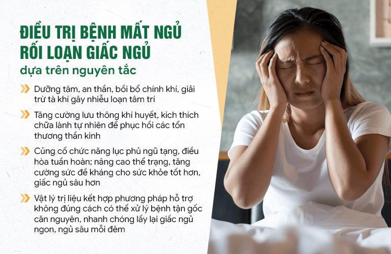 Nguyên tắc Đông phương Thần hiệu Định tâm chữa mất ngủ kinh niên