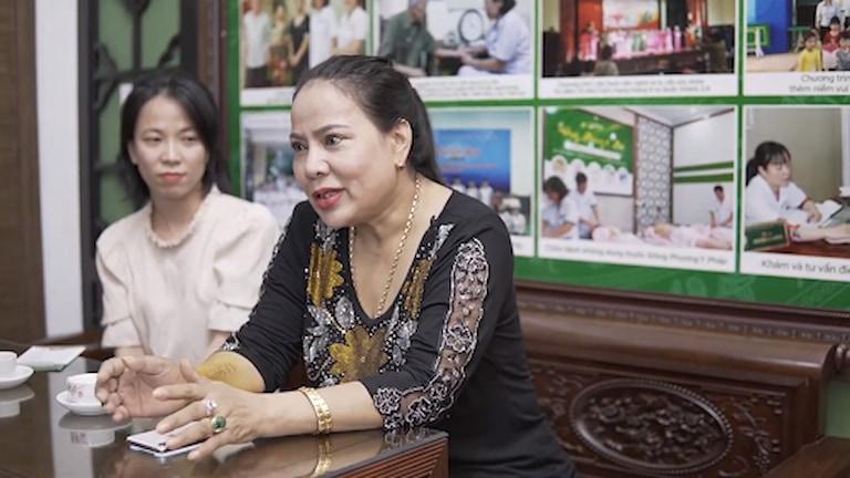 Cô Nguyễn Thị Dung - Bệnh nhân chữa tiền đình tại Đông phương Y pháp