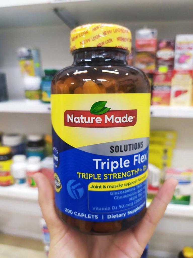 Triple Flex - sản phẩm trị đau vai gáy ưu việt cho người bệnh mãn tính và người cao tuổi