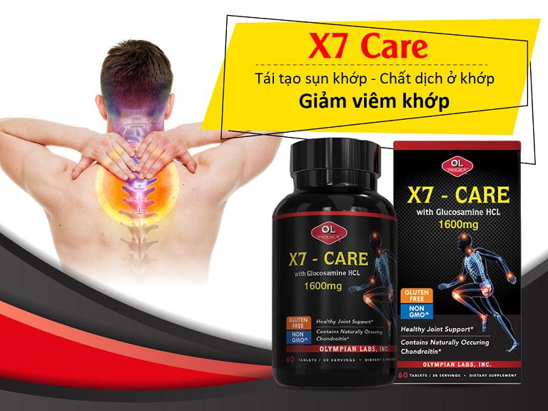 X7 - Care - Sản phẩm điều trị đau vai gáy số 1 của Mỹ