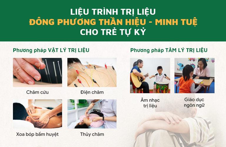 Liệu trình Đông phương thần hiệu - Minh Tuệ điều trị tự kỷ ở trẻ em