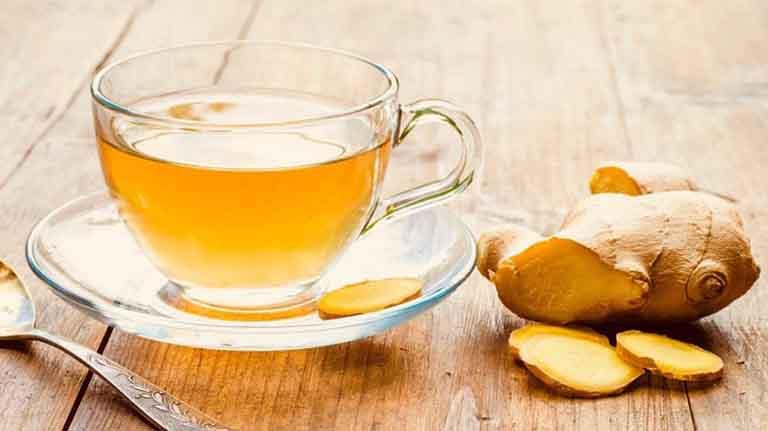 Uống trà gừng thường xuyên rất tốt cho bệnh đau đầu