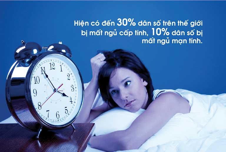 Bệnh mất ngủ kinh niên khiến cơ thể mệt mỏi, suy nhược tinh thần...