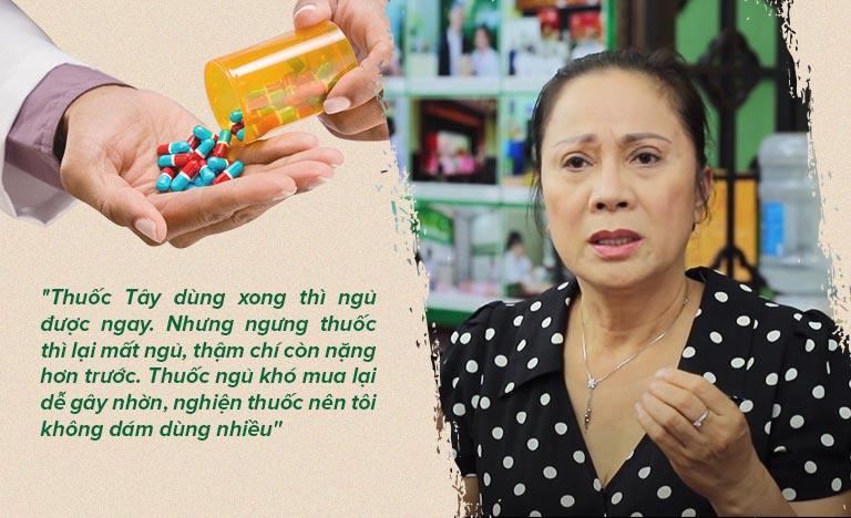 Chia sẻ của người trong cuộc về tác hại khi sử dụng Tây y, thuốc ngủ