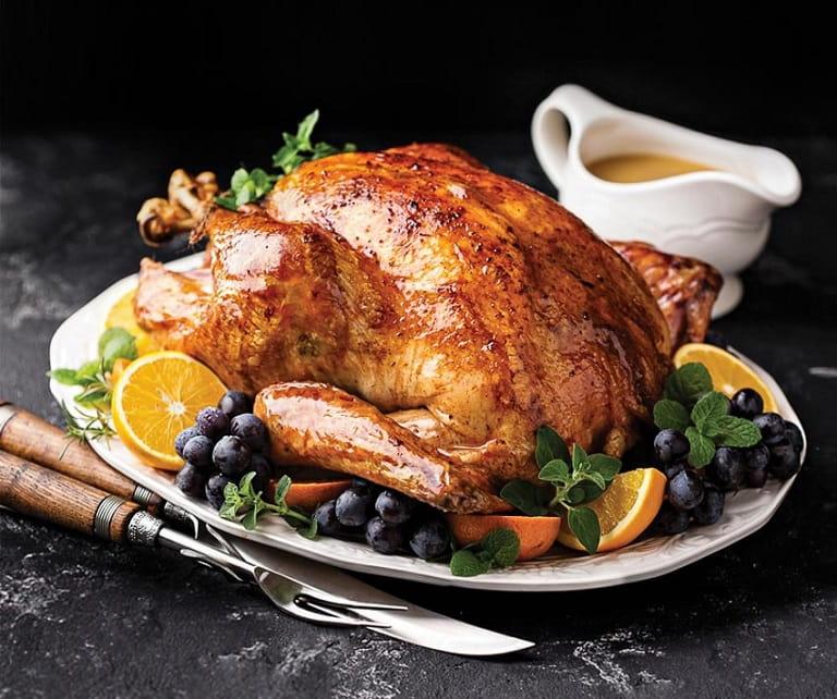Thịt gà tây là nguồn thực phẩm bổ sung tryptophan và các chất cần thiết cho mẹ bầu