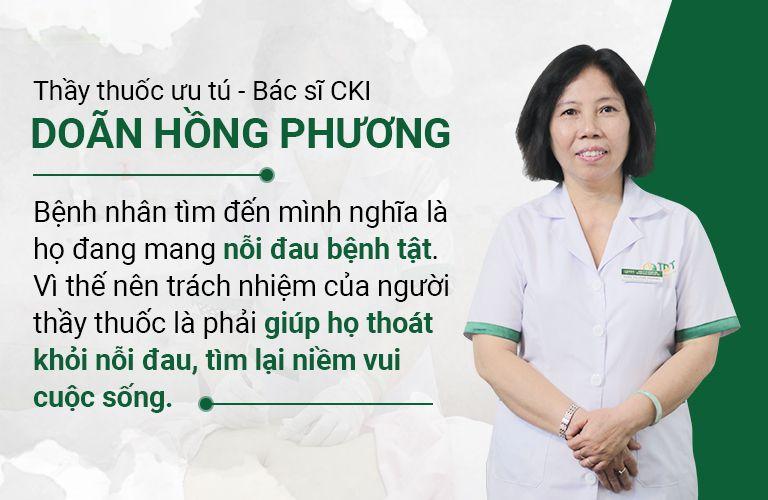 Bác sĩ Doãn Hồng Phương và quan điểm trong nghề y