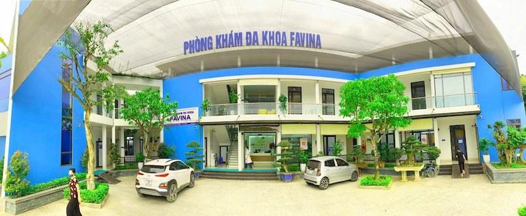 Hình ảnh phòng khám tại bệnh viện Favina