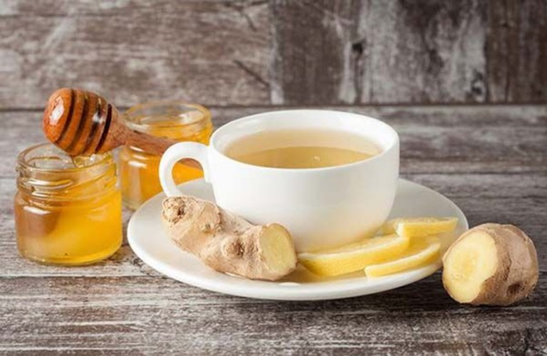 Mật ong với trà gừng điều trị rối loạn giấc ngủ