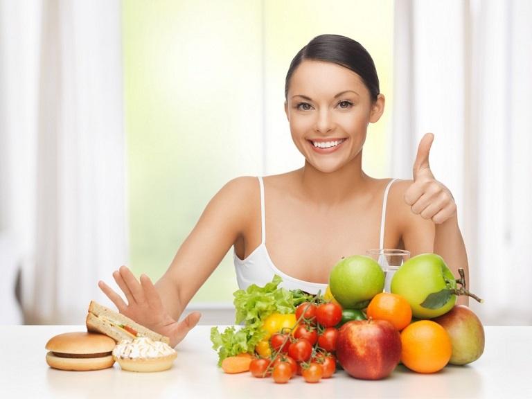 Chế độ ăn uống khoa học hỗ trợ chữa đau đầu vùng trán