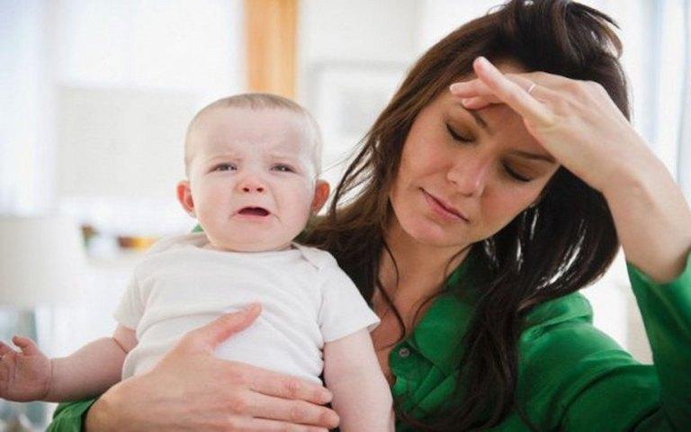 Đau vai gáy có thể dẫn đến tình trạng trầm cảm sau sinh