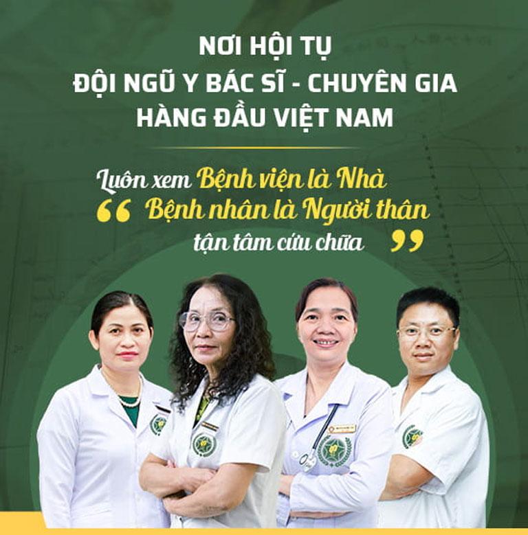 Bệnh viện quân dân 102 nơi hội tụ những y bác sĩ đầu ngành giỏi chuyên môn