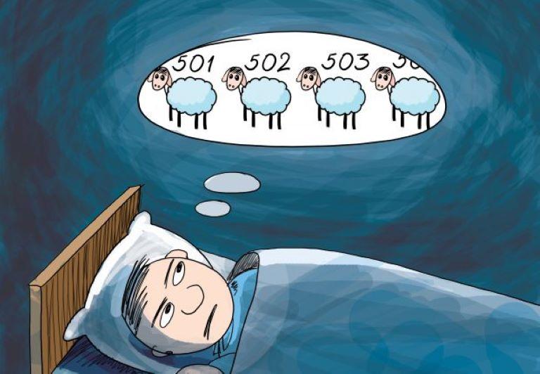 Trong nhiều trường hợp, đếm cừu không những không giúp ích mà cong có thể làm gia tăng thêm căng thẳng và mệt mỏi cho người mất ngủ