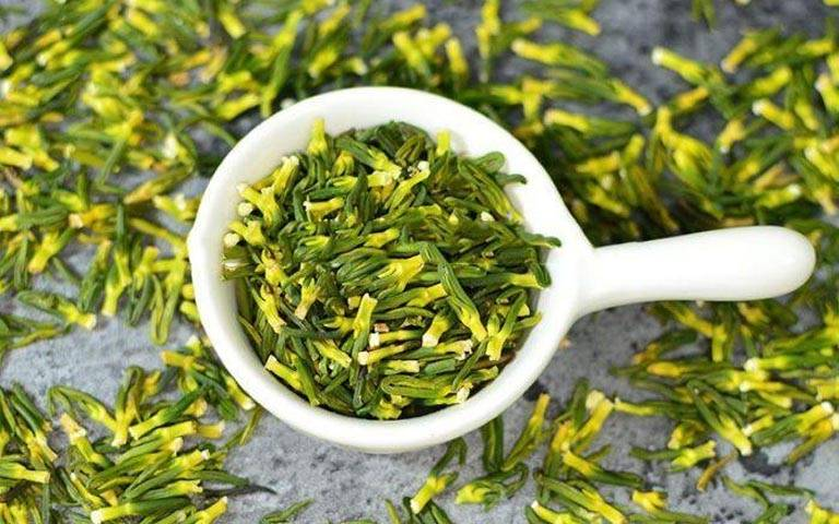 Tâm sen được dùng làm trà uống hàng ngày giúp an thần, cải thiện chứng mất ngủ