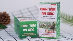 Thuốc chữa mát ngủ Định Tâm An Giấc của Học viện Quân y Việt Nam