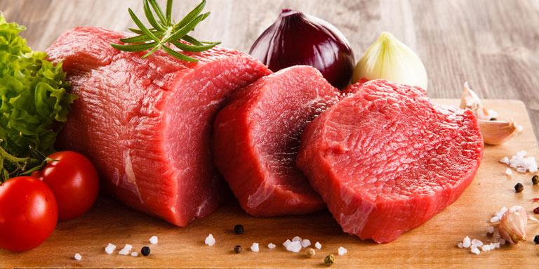Ăn ít thịt bò để tránh cơ thể bị trung hòa hết canxi