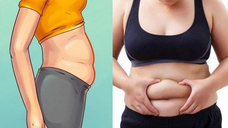 Rất nhiều người bị tích tụ mỡ ở vùng bụng