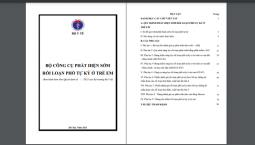 QUYẾT ĐỊNH SỐ 2254/QĐ-BYT VÊV BAN HÀNH BỘ CÔNG CỤ PHÁT HIỆN SỚM RỐI LOẠN PHỔ TỰ KỶ Ở TRẺ EM