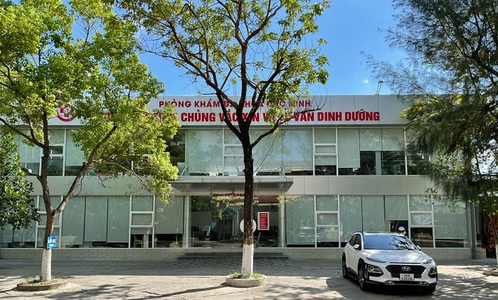 Khuân viên của Bệnh viện đa khoa