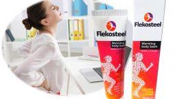 Thuốc xoa bóp Flekosteel hỗ trợ điều trị các cơn đau nhức xương khớp, thoát vị đĩa đệm